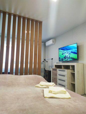 Однокомнатная квартира для 1-3х человек со всеми удобствами посуточно