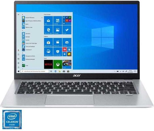 """Portatil Acer Swift 14"""" + 4GB RAM + N4020 + Full HD IPS"""