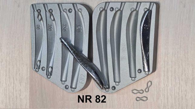 Forma wędkarska do odlewu - PILKER - 80/100/120/150 gram.