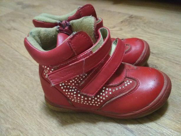 Ботинки Шалунишка 23 размер на девочку