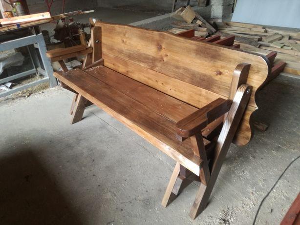 Ławka do ogrodu, DARMOWA wysyłka‼️, stół-ławko, mebel rozkładany, 2w1