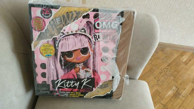 Кукла L.O.L. новая, серия O.M.G. Remix, Kitty