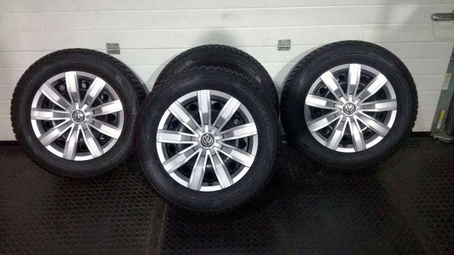 Koła zima VW Tiguan 215/65/17 96H XL Bridgestone / Kołpaki