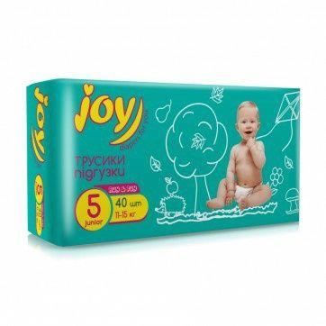 Подгузники памперсы трусики joy джой 5 (11-15 кг)