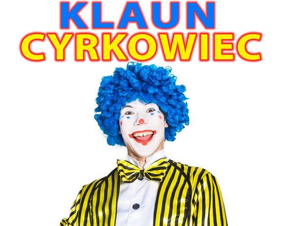 Klaun Cyrkowiec - nowy wymiar animacji dla dzieci! Komunia i Urodziny