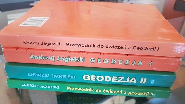 Książki do Geodezji, Przewodniki. Andrzej Jagielski