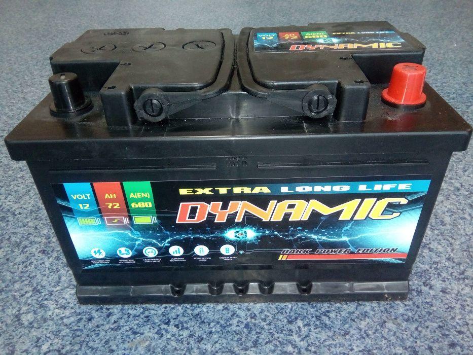Akumulator DYNAMIC 12V 72Ah 680A Kielce Kielce - image 1
