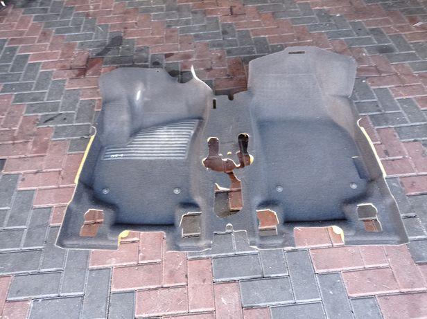 Коврик перед Opel Zafira B панель торпеда блок управления двигателем