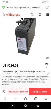 BATERIAS SOLARES DAS MELHORES MARCAS com valores ATE  50%