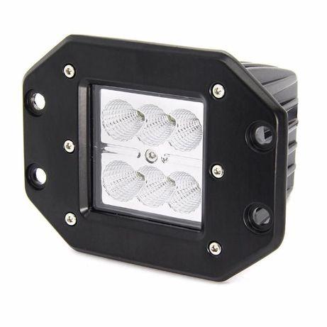 Projector Encaixe Cree Led 18Watt FHK-1806FE com 1800 Lumens (Foco)
