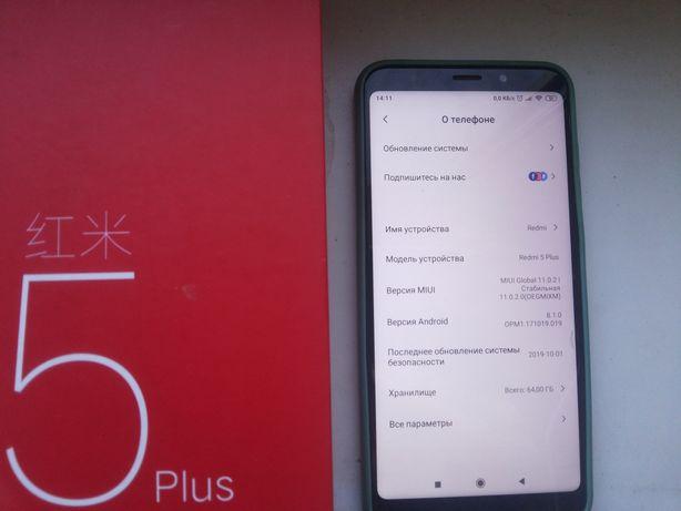 Продам телефон Xiaomi 5plus