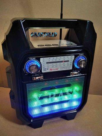 Лучше JBL.Колонка Bluetooth+Радио Golon RX-688BT+ Пульт+LED Подсветка