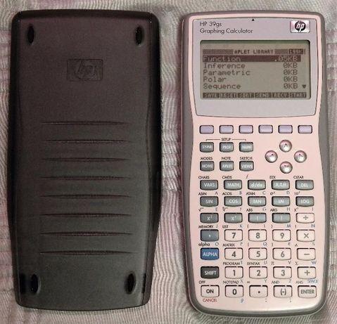 Calculadora gráfica HP 39gs - ENTREGA IMEDIATA