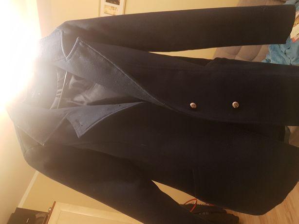 Elegancki płaszcz bds w kolorze ciemny grafit