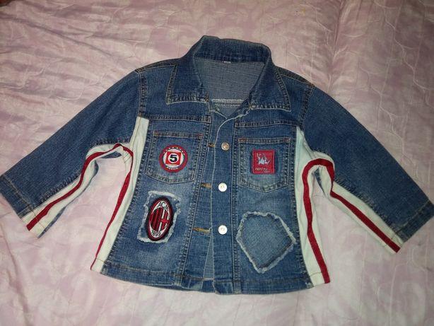 Куртка джинсовая, 3-4 года