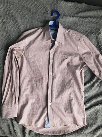 Czerwono biała koszula Tommy Hilfiger