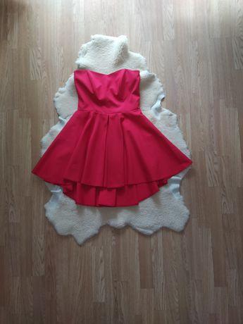 Czerwona sukienka roz. L