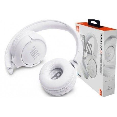 JBL T500 Białe, nowe słuchawki bluetooth. Te i wiele innych modeli