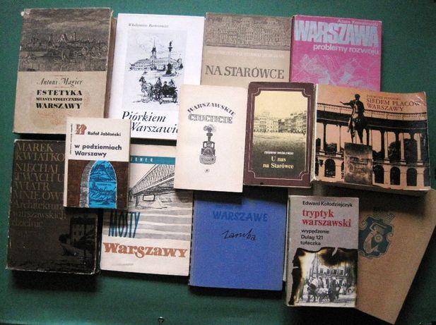 Tanie książki: Warszawa -zabytki, architektura, historia, kultura itd.