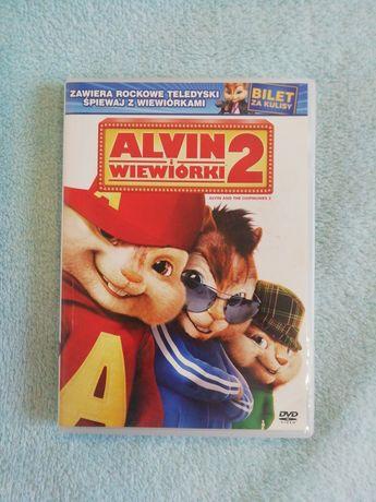 Alvin i wiewiórki 1 i 2 DVD