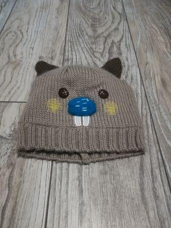 Ciepła czapka 6-12 miesięcy