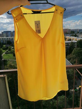 Żółta bluzka rozm 34, xs, F&F