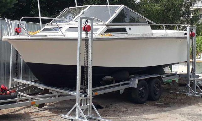 Łódź WINDY 24 motorowa houseboat motorówka jacht motorowy kabinowa
