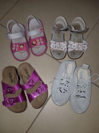 Летняя обувь для девочки.27размер