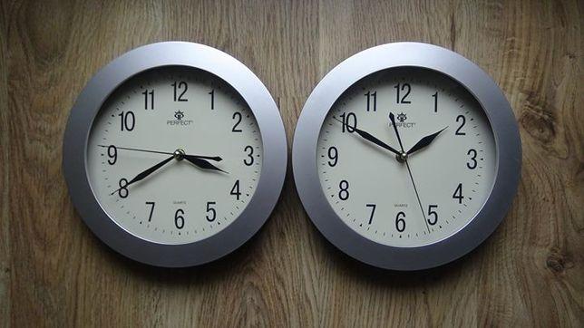 Zegar ścienny z pływającą wskazówką x2