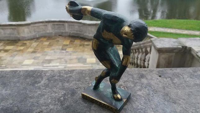 Zobacz! DYSKOBOL Figurka z Brązu Rzeźba Brąz OKAZJA!