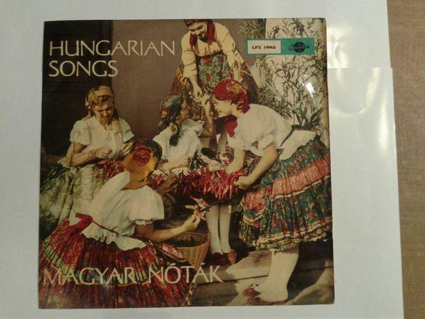 Płyty winylowe, muzyka węgierska / cygańska (zestaw 1)