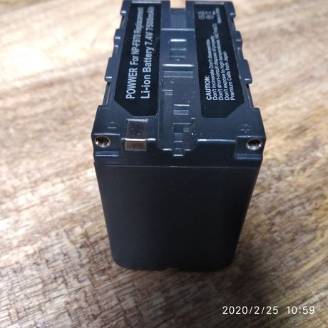 Akumulatorek do kamer Sony modelNP-F970