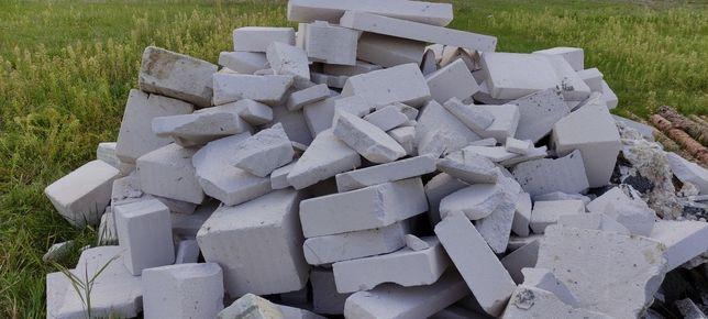 Oddam gruz, belit, suporex, pustak, beton komórkowy