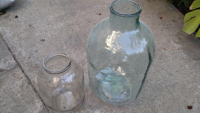 Бутыль 10 литров, 3 литра