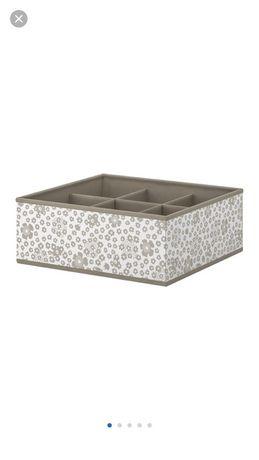 Pudełko z przegródkami ikea