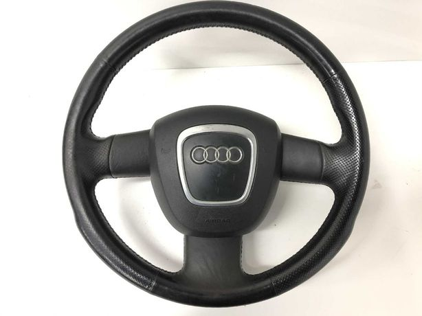 Audi A4 B6/B7 kierownica trójramienna poduszka A6 C6