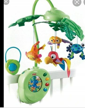 Karuzelka dla dziecka Fisher Price Rainforest
