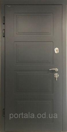 ТРИ контури! Вхідні двері для вулиці «Портала» серії Тріо RAL