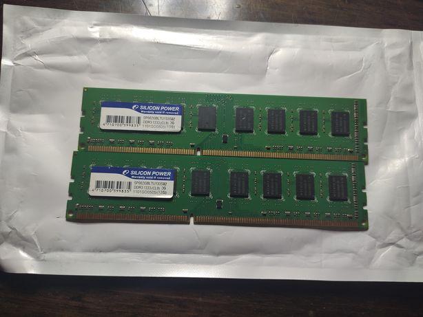 Оперативная память DDR 3 2*2Гб (1333МГц)