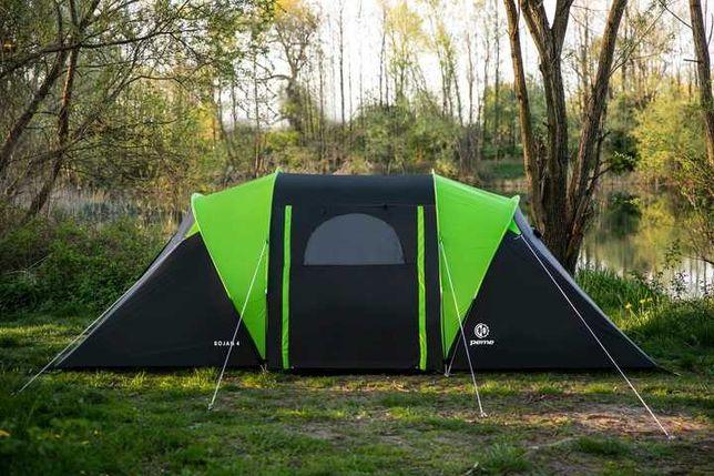 Палатка кемпінгова Peme Bojan 4 двокімнатна Намет туристичний