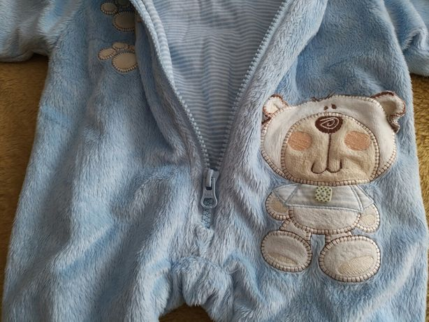Polarkowe kombinezony niemowlęce 4 szt
