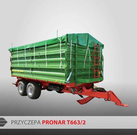 Przyczepa Pronar T663/2 Nowa!Gwarancja!Rabaty!