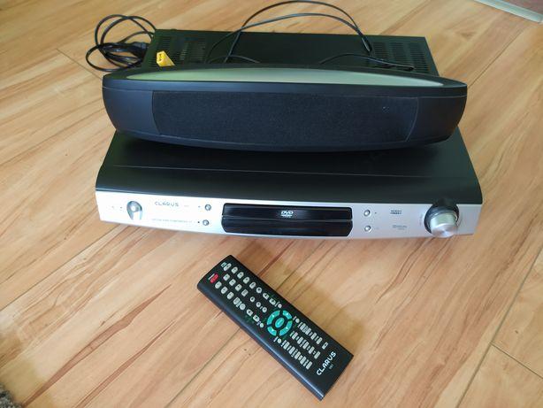 Kino domowe Clarus 5.1 hifi odtwarzacz DVD audio pilot głośniki okazja