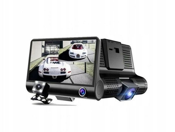 Kamera cofania rejetrator parkowania 1080p 3 kamery
