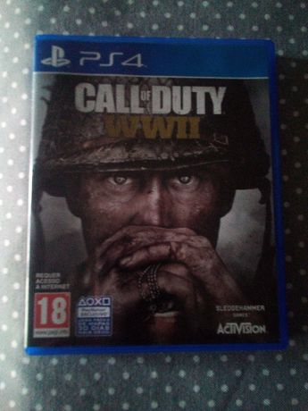 Jogo PS4 Call of Duty WWII