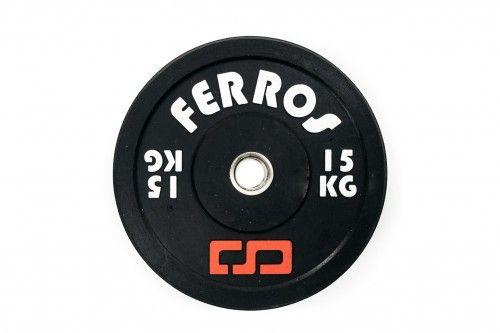 Obciążenie olimpijskie bumper gumowe 15 kg. Produkt polski!!!