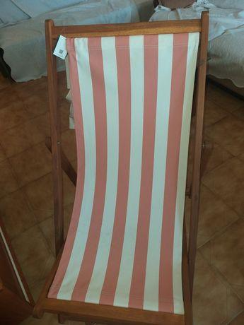 Cadeira de praia nova sim estrear