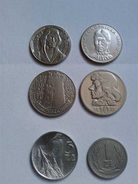 Monety PRL , zamienię