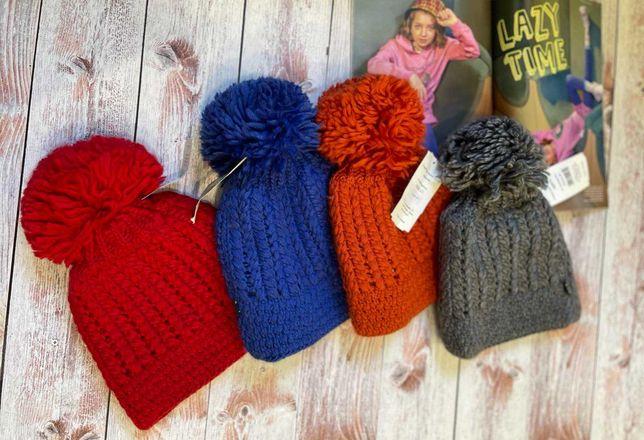 Зимняя детская шапка  от польской фабрики Loman