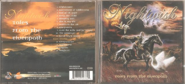 Nightwish - Tales From The Elvenpath - cd 2004 Germany NM - Płyty Inne